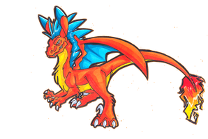 Charizard Roo by Hades-O-Bannon