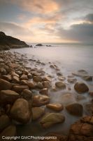 Pebbles and Mist by GMCPhotographics