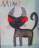 Mimi (a picture I drew at skool!) by Annaley