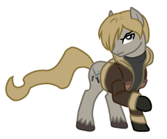Leon S. Kennedy Ponified by Drako1997