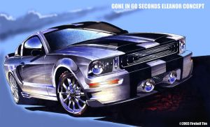 Eleanor Concept from GONE IN 60 SECONDS by fireballtim