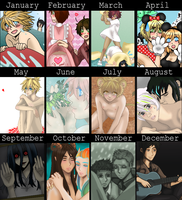 2012 Art Summary by xxx-TeddyBear-xxx