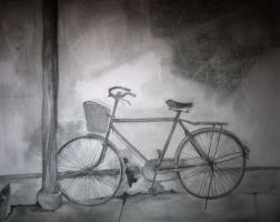 Bicycle in Hutong by CorkScrewed