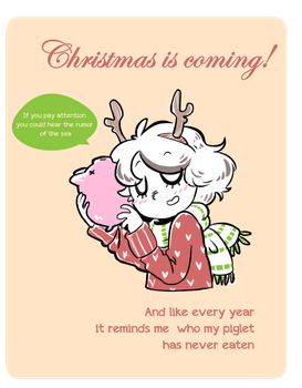 Christmas is coming!! by TRGreta