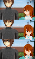 MMD Just a Smile by RinRinTyaan