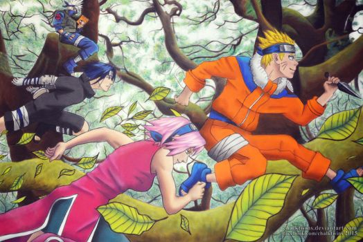 Team 7 by ChalkTwins