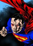 Superman by Caanan White (Colored) by TheComicBookMaster