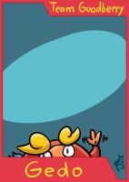 PMD-Explorers Trading Card - Gedo by cavemonster