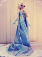 OOAK DS Singing Elsa 2014 by Yuki87