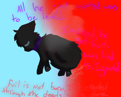 Scourge was not born evil. by AnamayCat