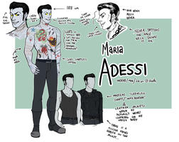 Maria Adessi -- character sheet or something v 2.0 by SirMeo