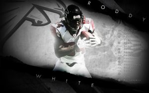 Roddy White wall with schedule by Culyu