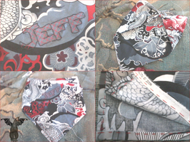 Custom Bandana for Jeff by Ryuus-Wardrobe