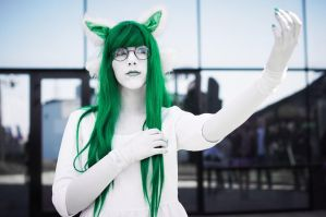 Jadesprite Cosplay 2 by Sioxanne
