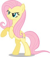 Angry Fluttershy by mattbas