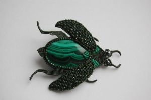 Green Beetle by 3zolushka