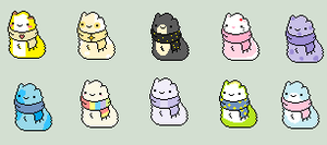 Scarfblob Adoptables - 2 left! by iSell-Adoptables