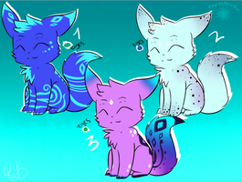 Adoptables :D ~OPEN~ by PaperBricks