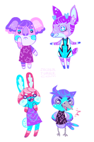 forest life by Azurice
