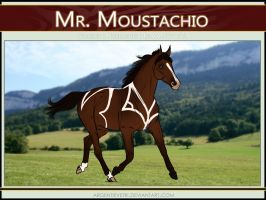 2301 AS Mr. Moustachio - SOLD by Argentievetri