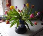 Rise of the Tulips by Rhiallom