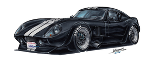 Shelby Cobra Daytona by vsdesign69
