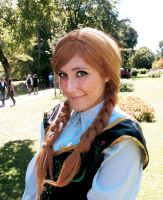 Anna of Arendelle by azzurrocielo45