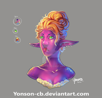 testing a more blended colour style by yonson-cb