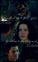 Never betray, Richard.Kahlan by TheConDar