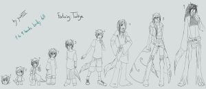 1to9 heads tall body tag by YuaXIII