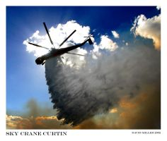 Sky Crane Curtin by Ozphotoguy