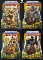 MOTUC Four Hordesmen packaged by masterenglish