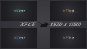 Xfce - Fast 4 Wallpapers Pack by LiquidSky64