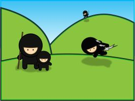 3 ninjas and a baby by absolute-beginner