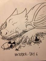 2016 - 10oct - Inktober (Day 6) by mosobot64