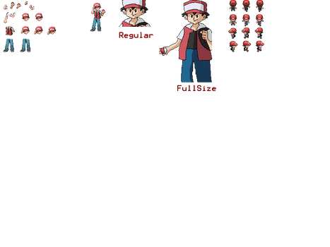 Pokemon Black 2 and White 2- Classic Red by jeepsollender