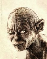 Gollum by dominiquefam