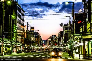 Gion Street by decadeinthegrave