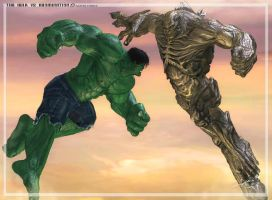 Hulk Vs Abomination by ubald007