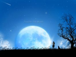 :Touchin The Moon: by Joker84