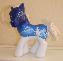 MLP Custom White Christmas by colorscapesart