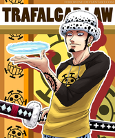 OP - Trafalgar Law +Color+ by FerioWind