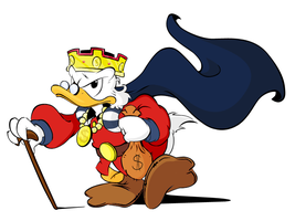 Scrooge Mc Duck by Solvernia