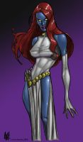 Mystique - AH by richmbailey
