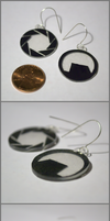 Black Mesa and Aperture Science Earrings by Emoeba