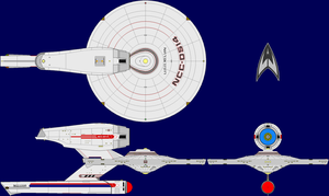USS Kelvin AU TOS Multi-View by captshade