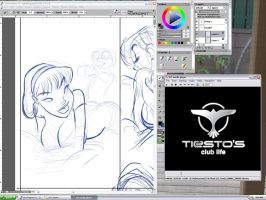 Working on MHAN05 by JABcomix