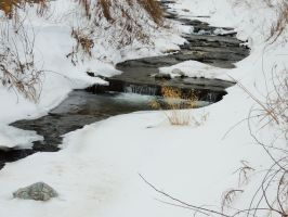 snow and water by ionelat