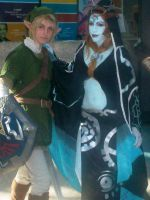 Link and Midna Again.... by Gaara-Sephiroth