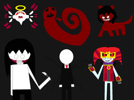 The Evil Group by LadyCatgirl